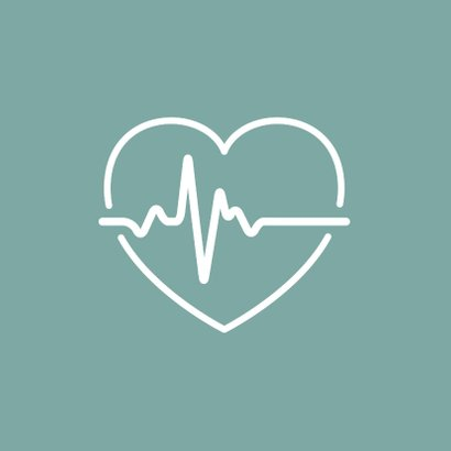 Bedankkaart hulpverleners hart met hartfilmpje 2