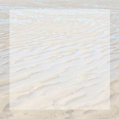 Bedankkaart met strand  3