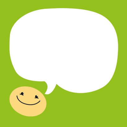 Bedankkaartje Smiley 3