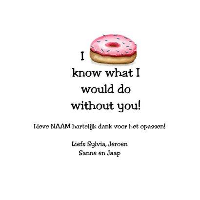 Bedankkaartjes sweet cupcake 3