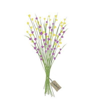 Bedankt Fiets met bloemenmand 2