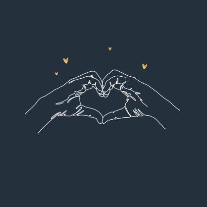 Bedankt hulpverleners steun zorg liefde hartgebaar 2