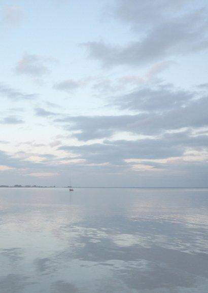 Bedankt water - zee landschap 3