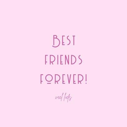 Best Friends Forever Kapper Illustratie 3