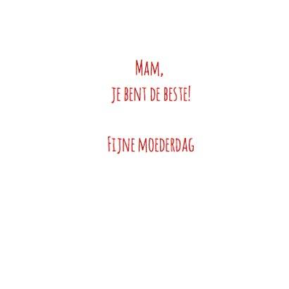 Beste mama ooit - letters 3