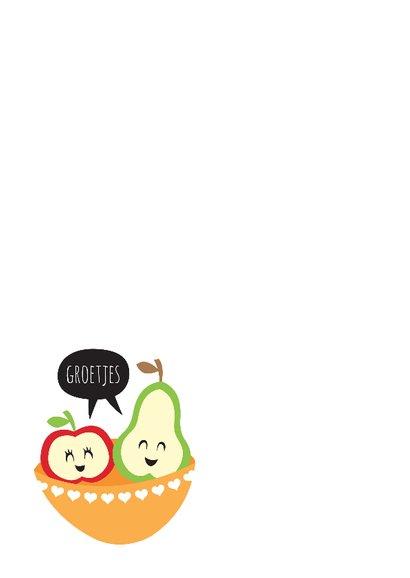 Beterschap appel peer lief 2