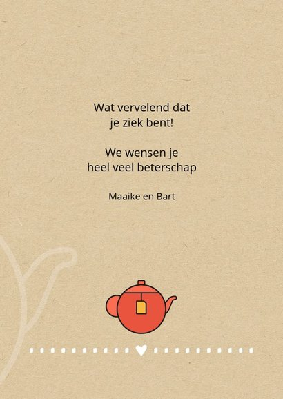 Beterschap Be tough and drink tea 3