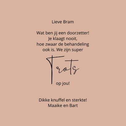 Beterschap Bikkel this says it all 3