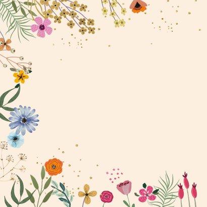 Beterschap bloemen en takjes 2