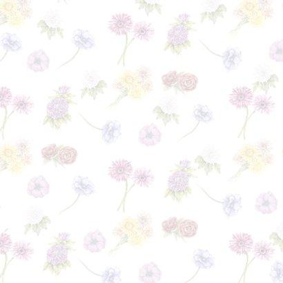 Beterschap bloemen label 2