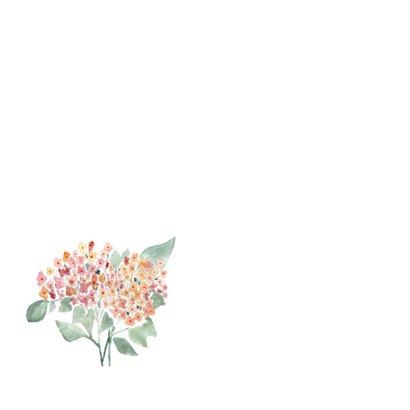 Beterschap kaart met hortensia - natuur 2