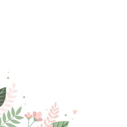 Beterschapkaart met bloemen 2