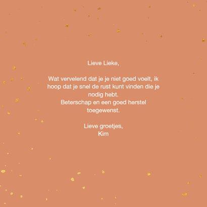 Beterschapskaart - flowers 3
