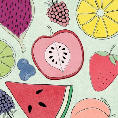 Beterschapskaart - Kleurrijk & Fruitig 2