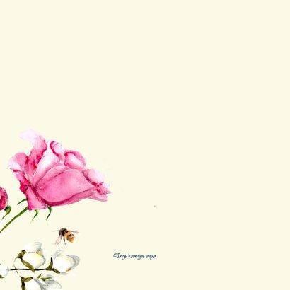 Beterschapskaart Lieve bloemen 2