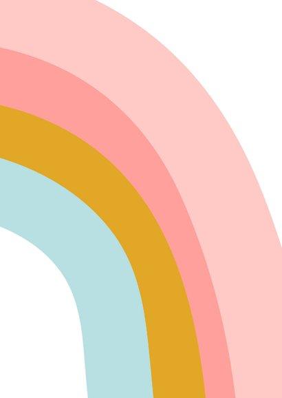 Beterschapskaart regenboog 2