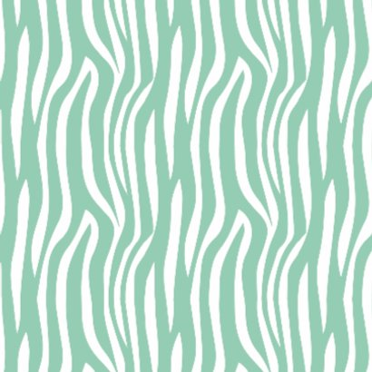 Beterschapskaart Zebra Mint - WW 2