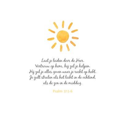 Beterschapskaart zonnetje zonnestraal stralen beterschap 2