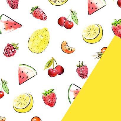 Beterschapskaart zonnig fruit 2