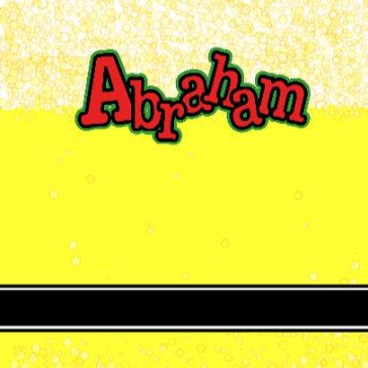 BIERTJE Felicitatie kaart ABRAHAM 3