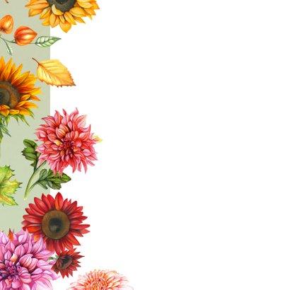 Bloemen in de herfst  2