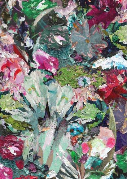 Bloemen kunst print 2