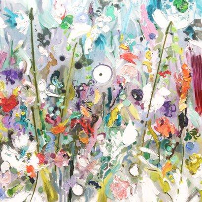 Bloemen oever schilderkunst 2