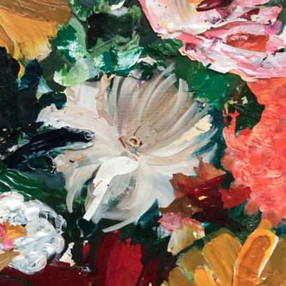 Bloemen schilderij kunst IF 2