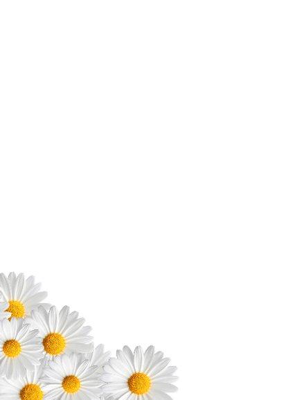 Bloemen uitnodiging meisje 2