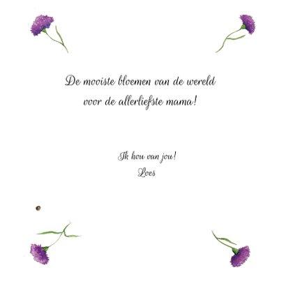 Bloemenkaart De allermooiste bloemen 3
