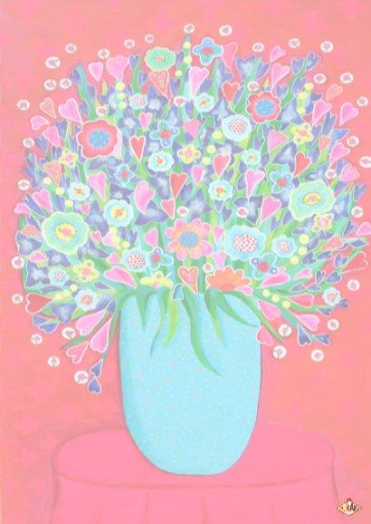 Bloemenkaart Kleur PA 3