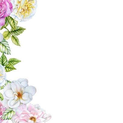 Bloemenkaart rozen pastel 2