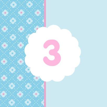 Bloemetjes Roze Lief 1LS3 2