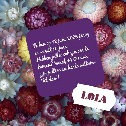 Bloemetjes verjaardagskaart-isf 3