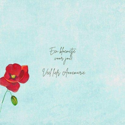 Bloemkaart wilde bloemen voor jou. 3