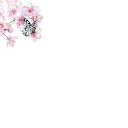 Bloesemtakken voorjaar vlinder 2