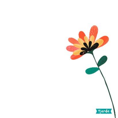 Bos bloemen op bruin craftpapier 3