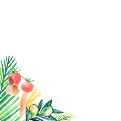 Botanische 21-diner uitnodiging 2