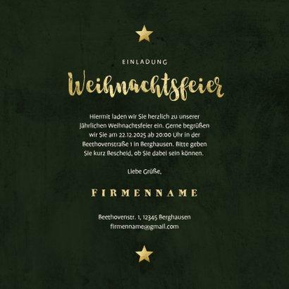Botanische Einladung zur Weihnachtsfeier 3