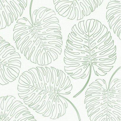 Botanische verjaardagskaart met handlettering 2