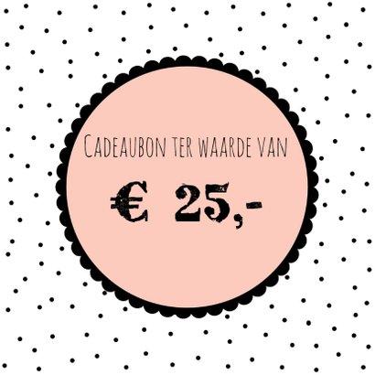 Cadeaubon roze 3