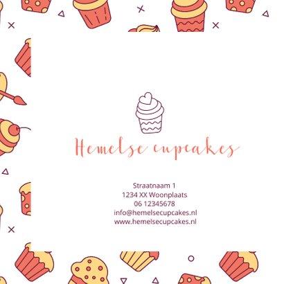 Cadeaubon zakelijk zzp taarten en cupcakes 2