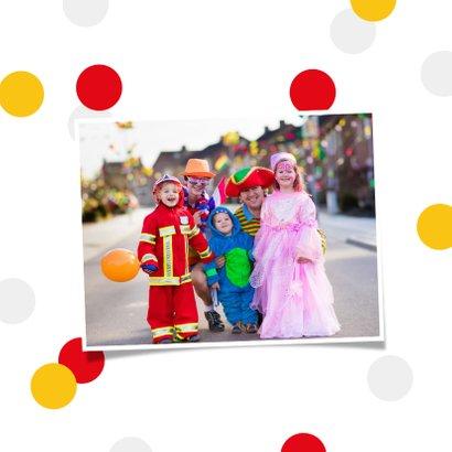 Carnavalskaart Breda Kielegat corona confetti  2