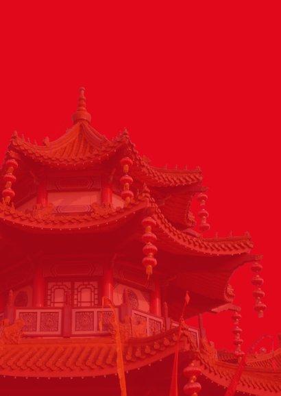Chinees nieuwjaar met tempel 2