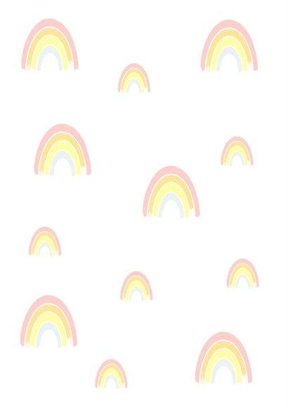 Christelijke kaart regenboog 2