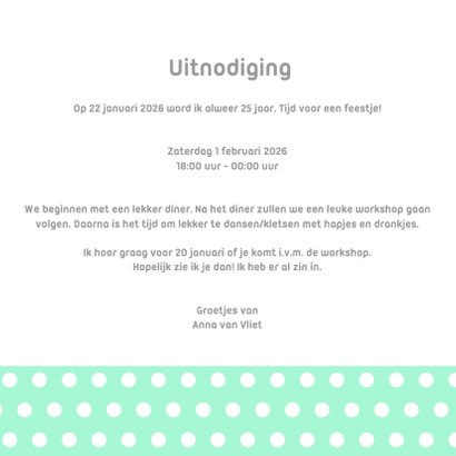 CliniClowns uitnodiging mint- DH 3