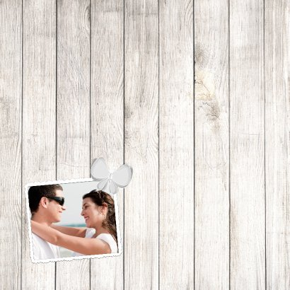 Collage hout hart 10 foto's - BK 2