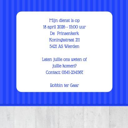 Communie blauwe lijnen - BK 3