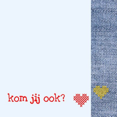 communie denim flower power 3