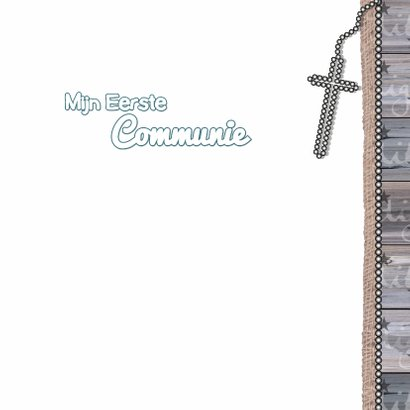 Communie Lentefeest ster hout  3